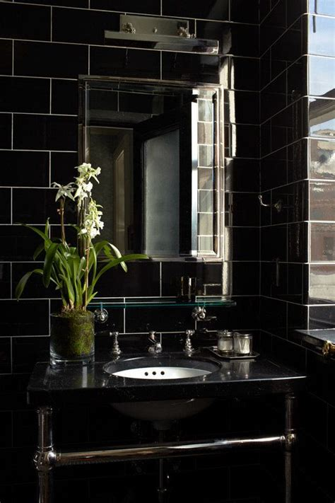 black bathroom tiles ideas 32 black bathroom wall tile ideas and pictures