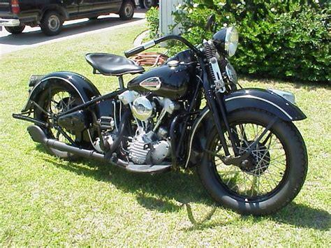 Knucklehead Harley › Black Harleydavidson Knucklehead