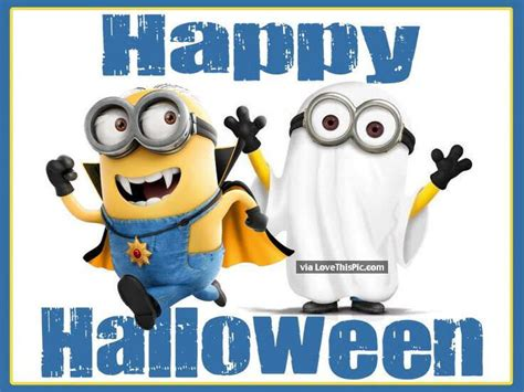 Happy Halloween Minion Quote Pictures, Photos, And Images