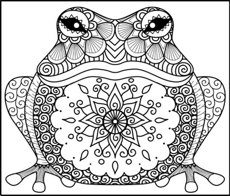 animal zentangle coloring pages  pagan acorns