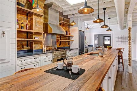 Kitchen Table And Island Combinations - 23 reclaimed wood kitchen islands pictures designing idea