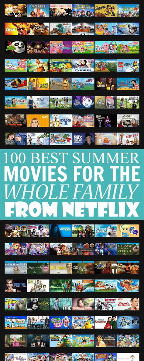 100 Best Summer Movies for the Whole Family on Netflix ...