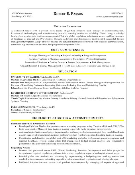 Bcg Resume by Robert E Parson Resume