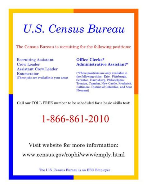 the bureau of census u s census bureau hiring thousands in our area melanian
