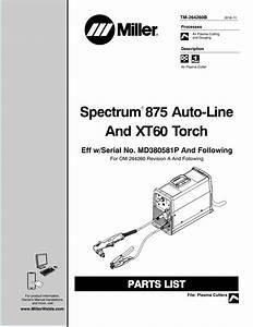 Miller Spectrum 375 Wiring Diagram