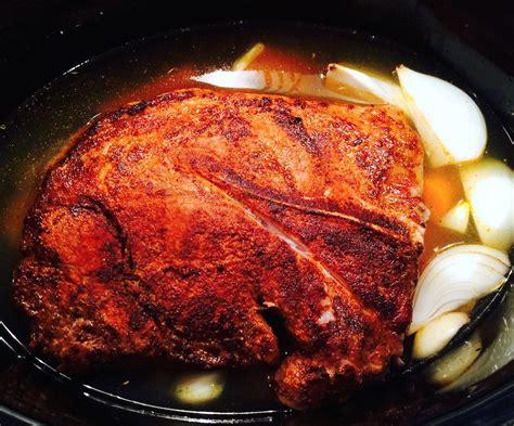 pork shoulder roast crock pot crock pot pork shoulder fresh fork market
