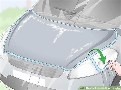 How To Paint The Hood Of A Car (with Pictures)