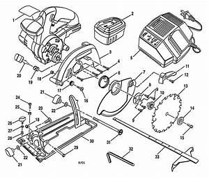 Craftsman Trim Saw Parts