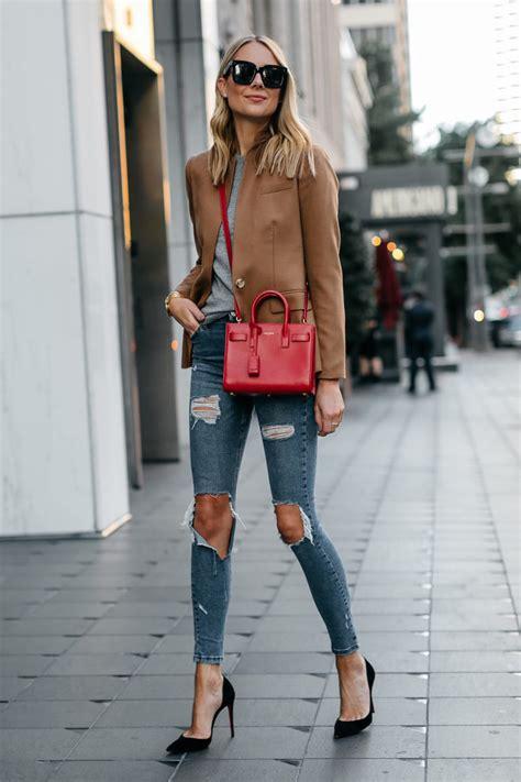 red bag  fall fashion jackson
