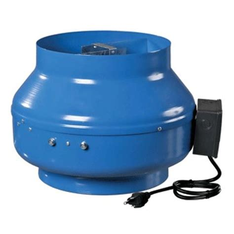 vents 541 cfm power 8 in in line centrifugal metal duct