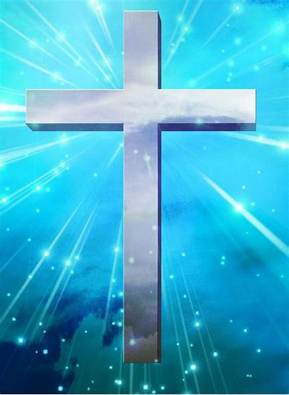 Cross Christian Backgrounds Jesus Holy Worship Iphone