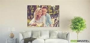 Toile Photo Pas Cher : toile photo personnalis e pour habiller vos murs avec style ~ Dallasstarsshop.com Idées de Décoration
