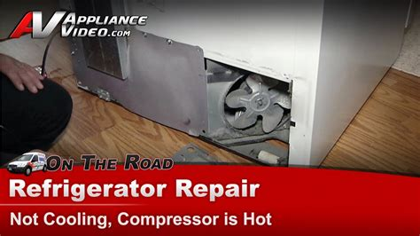 amana refrigerator repair not cooling replace compressor condenser motor br18v2w