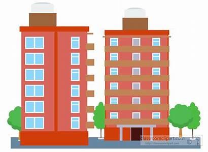 Building Clipart Condominium Transparent Clip Architecture Buildin