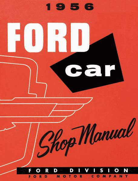 ford car  bird complete service info factory
