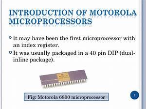 Motorola 6800 Pin Diagram