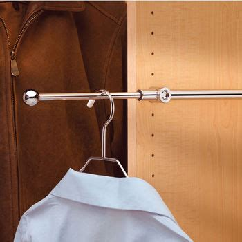 rev a shelf designer series closet valet rods