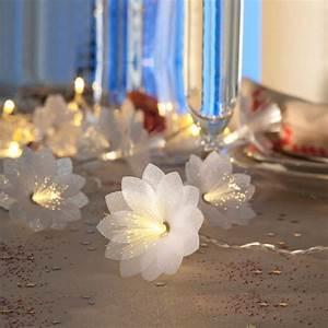 Guirlande Lumineuse Fleur : guirlande lumineuse fleurs 2017 et guirlande de fleurs lumineuses noel deco images ~ Teatrodelosmanantiales.com Idées de Décoration