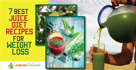 juice weight diet loss recipes lose help