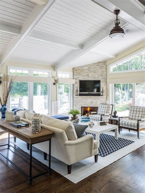 sunroom ceiling concept living room design ideas renovations photos with a