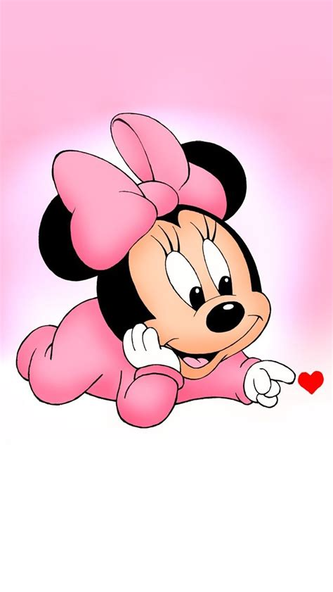 cute baby minnie baby disney characters mickey mouse