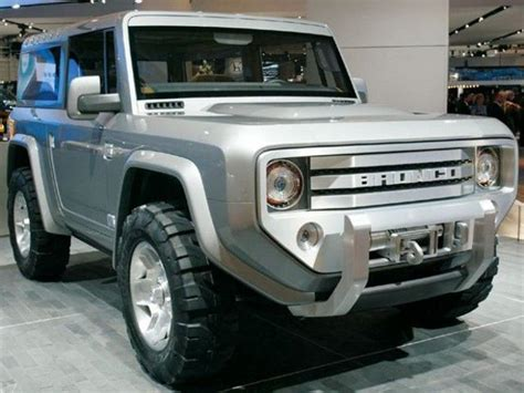 It Is Understood That Brand-new 2018 Ford Bronco Concept