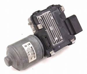 Rh Windshield Wiper Motor 04-06 Vw Phaeton - Genuine