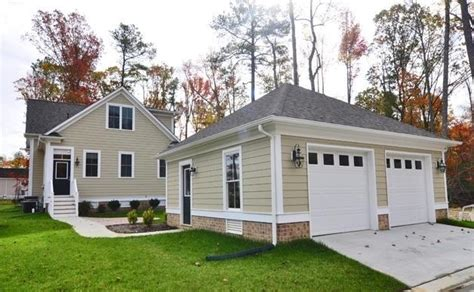 homes with detached garage park in new town in williamsburg va now offers