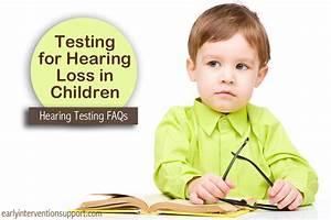 Hearing Loss in Children - Hearing Testing | EIS