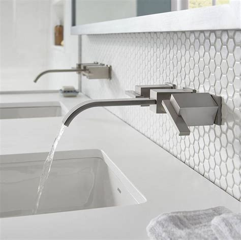 Lowest Price Bathroom Faucets. melton widespread waterfall