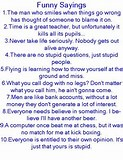 Image result for funny sayings thought and quotes