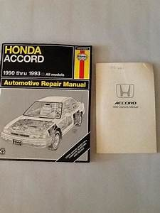 Sell 2000 00 Honda Accord Owners Manual  U0026 Repair Manual