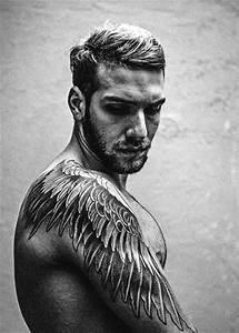 Tattoos Wings On Men   Ink   Pinterest   Tattoo wings ...