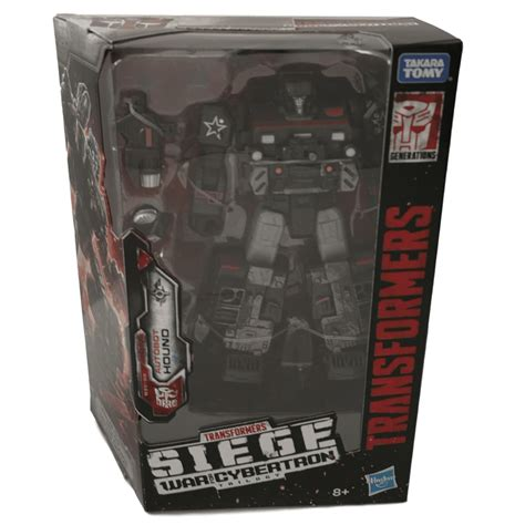 TRANSFORMERS WAR FOR CYBERTRON - SIEGE DELUXE CLASS HOUND ...