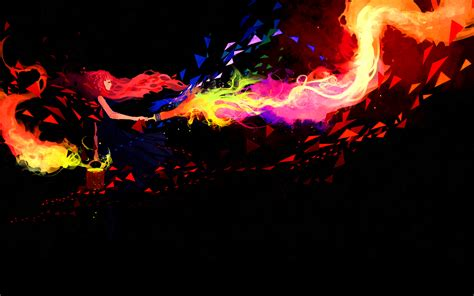 Abstract Wallpaper Hd 1080p by Abstract Painting Walls With Colorful Brush Hd