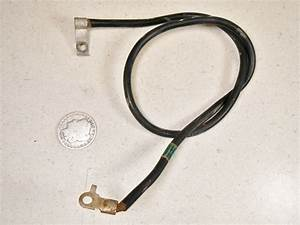 87 Honda Trx350 4x4 Negative Battery Ground Wire Cable