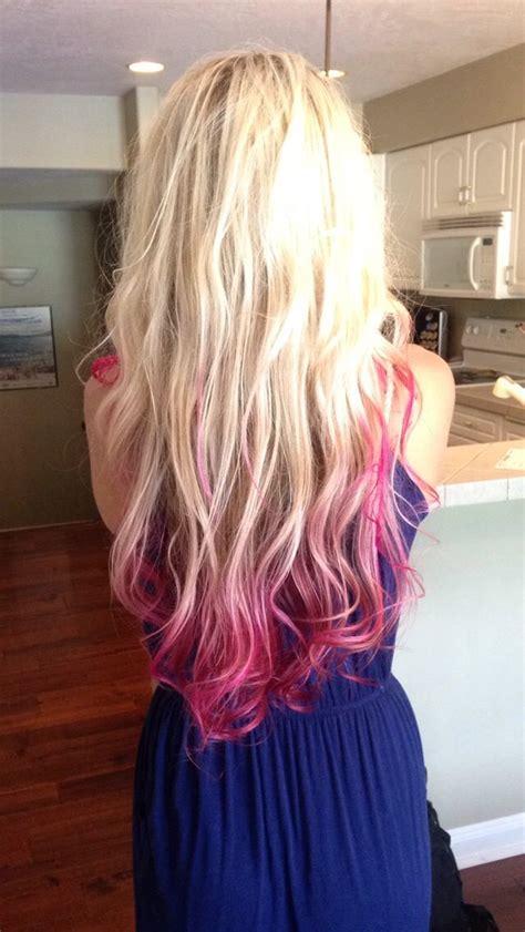Best 20 Pink Hair Tips Ideas On Pinterest