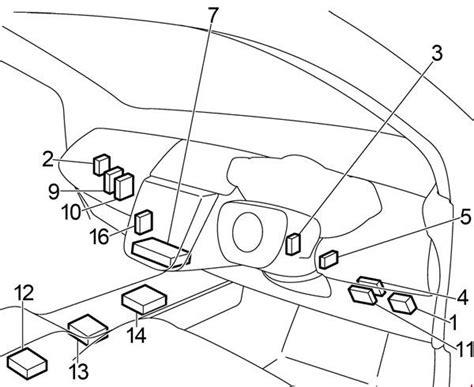 Nissan Murano Fuse Box Diagram Auto Genius