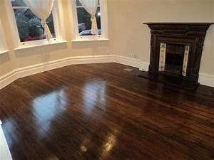 Floor sanding and polishing floor sanding finishing and for Pine floors stained dark