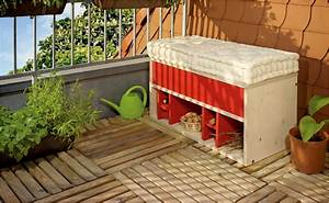 sitzbank bauen projektanleitung von hornbach With französischer balkon mit garten holzhaus selber bauen anleitung