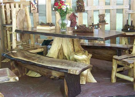 Tree Trunk Style Table ? Top Interior Design For Easy