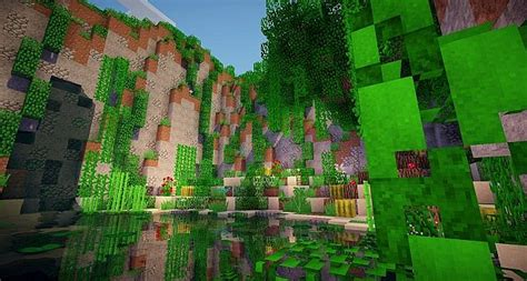 beautiful landscape minecraft project
