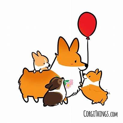 Corgi Drawing Cartoon Dog Drawings Welsh Things