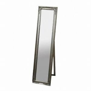 Miroir Sur Pied : miroir sur pied en bois ~ Teatrodelosmanantiales.com Idées de Décoration