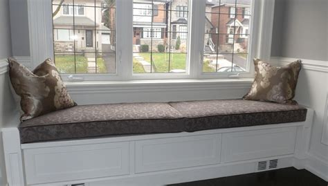 window bench seat comfortable cushions for window seats homesfeed