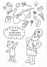 Sikh Sheets Coloring Activity Turban Template Bodh Gurbani Sketch sketch template