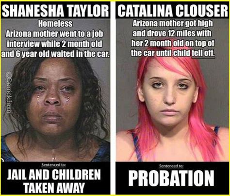 Single White Female Meme - how the coddling of white women helps them in the justice system vs the abandonment of black