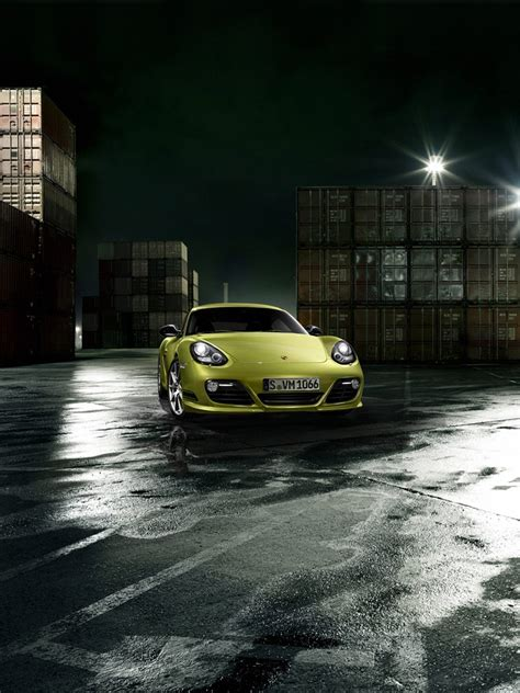 cars porsche cayman  coupe  ipad iphone hd