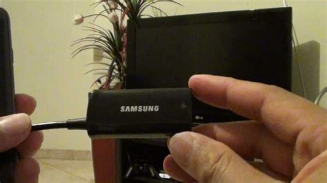 samsung galaxy  connecting hdtv mhl adapter epl fhu
