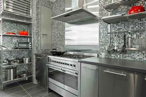 Kitchen Greysteel by Modern Ikea Stainless Steel Backsplash Homesfeed
